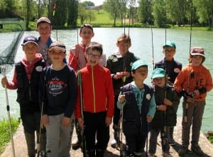 Ecole de pêche du 07 05 2016