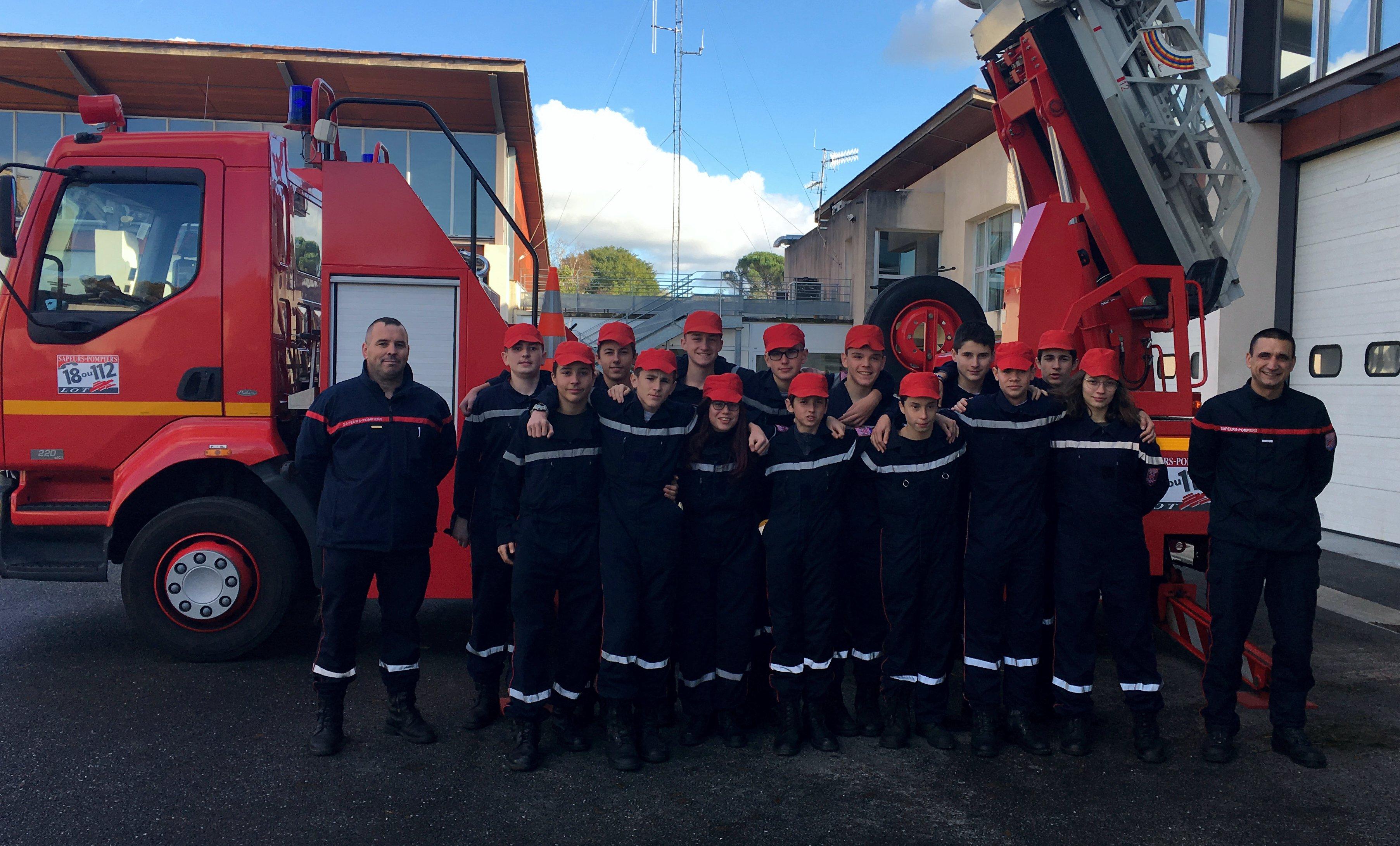 Figeac : Les cadets de la sécurité civile en manoeuvre - Medialot